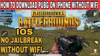 How to download PUBG Game on iPhone without WiFi || Download ??? PUBG Mobile data ?? IOS devices ???