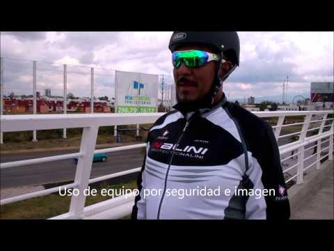 Entrevista 2 Ciclista con bici de bambu, Ususario de ciclopista Puebla