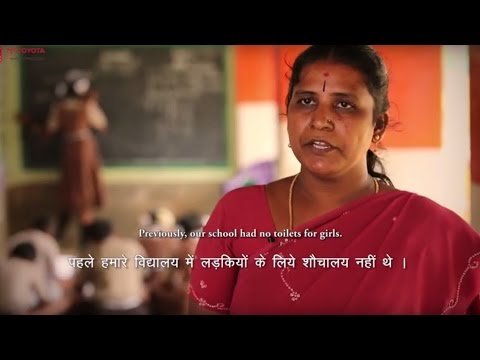 Solace and Sanitation in India from Toyota Kirloskar Motor