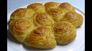 CHEESE PASTRY - Flaky Delicious!