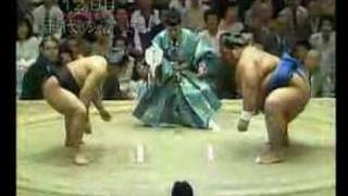 小錦 対 千代の富士