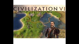 Civilization 6: Play thru - Spanish empire - Ep 2