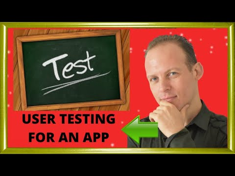 How to do user testing for a website or a mobile app