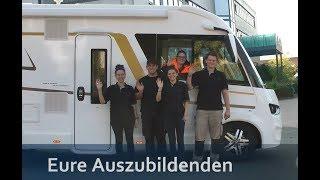 Eura Mobil - unsere Azubis stellen die Ausbildungsberufe in unserem Hause vor
