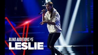 """Leslie  """"Ready Or Not"""" - Blind Auditions #5 - TVOI 2019"""