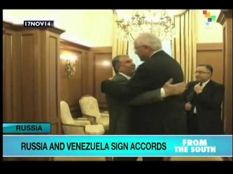 Russia, Venezuela sign accords