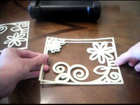 How To Make Your Own Embossing Plate Folders Youtube