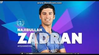 Zadran, Cricket's Young Left-Handed Batsman