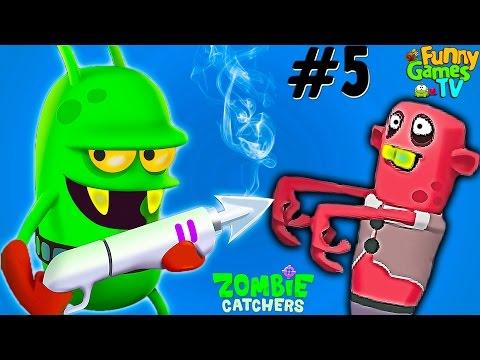 Новые мультики про зомби апокалипсис Ловцы Зомби видео для малышей Zombie Catchers #5