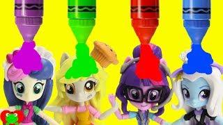 My Little Pony Magic Turns Into Equestria Girls