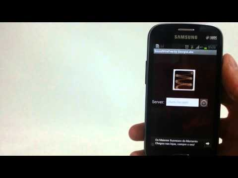 Como usar seu Android como CAIXA DE SOM para o PC