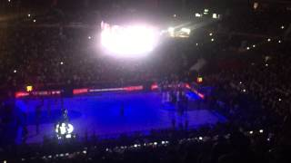 Real Madrid - Fenerbahce Ulker (Euroleague Final Four Madrid 2015 - Semi Final) just before the game