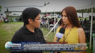 Suab Hmong News:  Ashley Thao, Hmong Female Singer