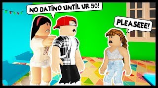 MY KID WANT TO START DATING! NO WAY, NO DATING ALLOWED! - Roblox