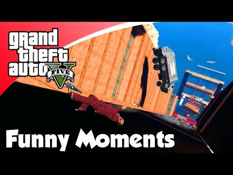 GTA V Online - AUTO WATERVAL VS BIKES! (GTA 5 Funny Moments)