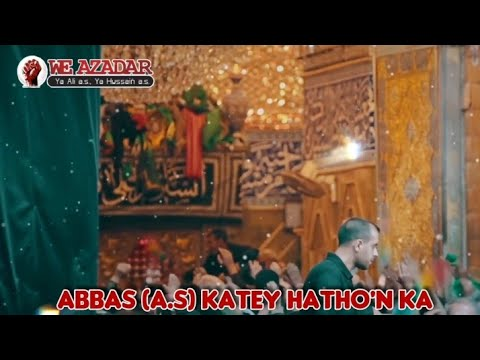 Bibi Sakina (s.a) Munajat Status video | Abbas (a.s) katey hatho'n ka Ejaz Dikha Do | Munajat Status