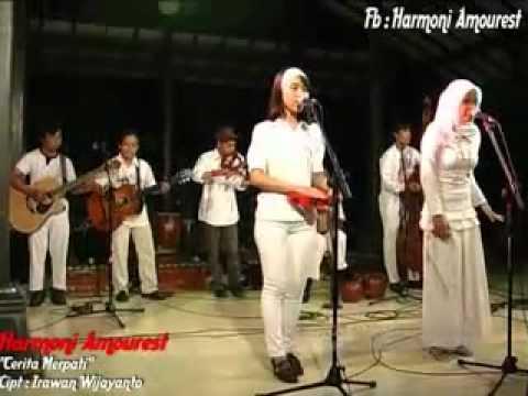 download lagu Cerita Merpati- Harmoni Amourest.flv gratis
