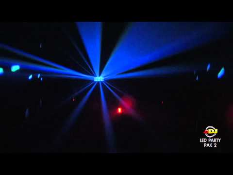 American DJ LED Party Pak 2