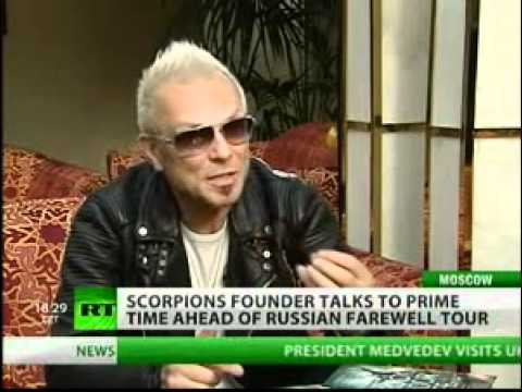 Scorpions founder talks to RT ahead of Russian farewell tour