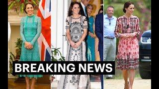 All of Kate Middleton dresses India Tour 2016