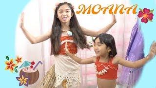 MOANA MAKEOVER with Kaycee & Rachel