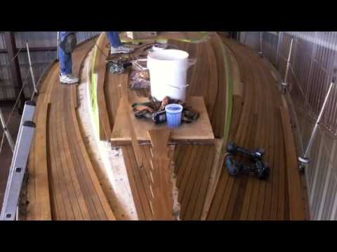 Swan 371 Teak Deck Replacement