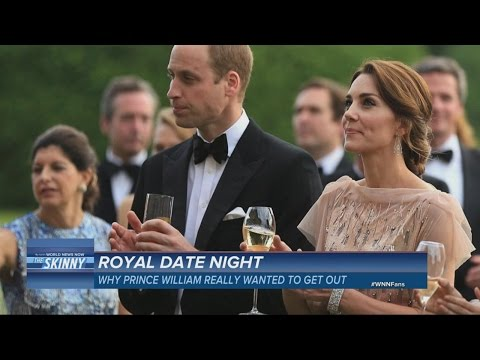 The Duke and Duchess of Cambridge Trade Jokes at Charity Gala  | ABC News