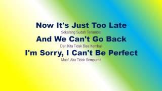 Lirik Lagu Perfect dan Terjemahannya