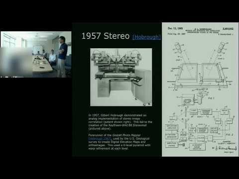3D Computer Vision:  Past, Present, and Future