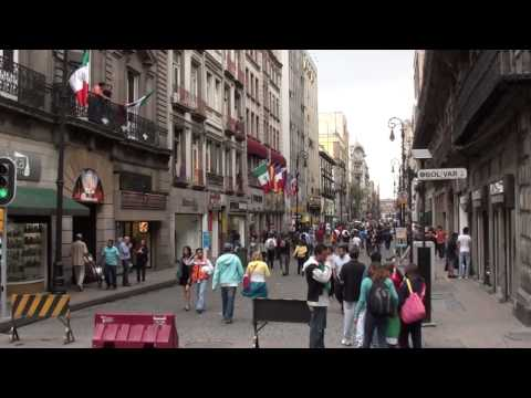 A walk through downtown Mexico City