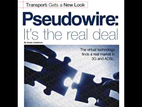 "The virtual technology finds a real market in 3G and ADSL. This podcast was adapted from the ""Pseudowire. It's the real deal."" article featured in the Winter 2006-07 issue of Tellabs Emerge Magazine."