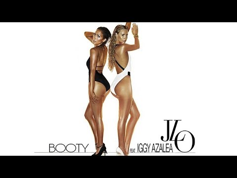 Jennifer Lopez & Iggy Azalea Sexy 'Booty' Artwork and Remix Song!