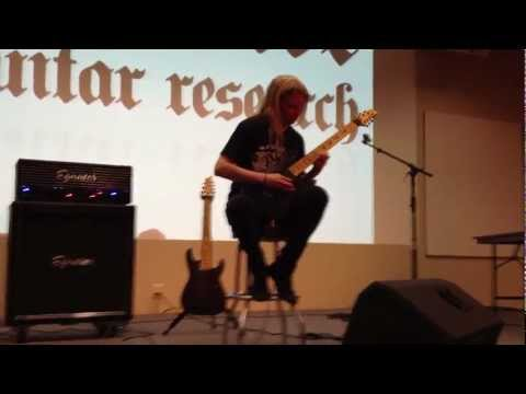 Jeff Loomis - GEARFEST 2012 - Miles of Machines