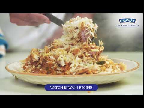 Daawat Basmati Biryani Recipe Video - 6 seconds