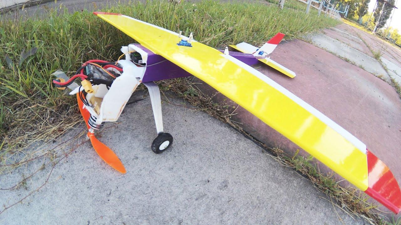 Самолет на радиоуправление с двс своими руками