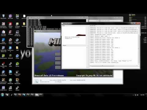 How to make a Minecraft 1.8 Server on Windows 7
