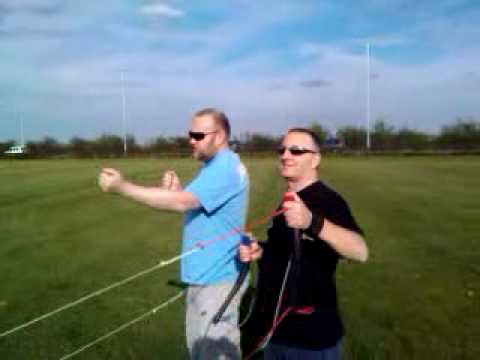 Carl Mason flying Kites Video