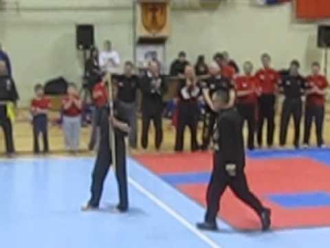 Traditional wing chun school Pozarevac - Serbia - Master Dusan - spear