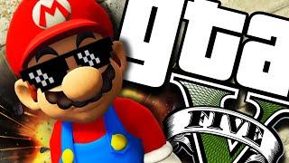 GTA V PC - Mario BEM LOCO! (MODS)