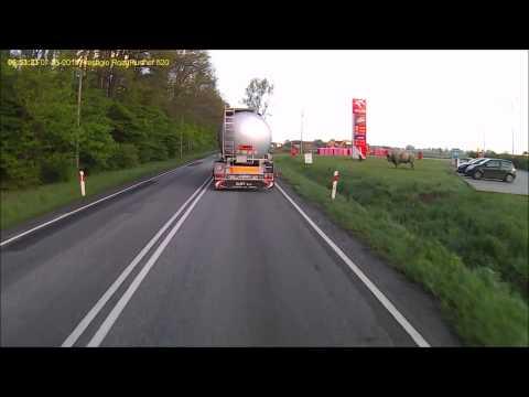 Wypadek - Trasa Ostrów Wielkopolski - Krotoszyn