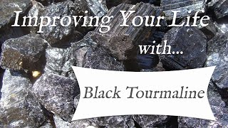 BLACK TOURMALINE - TOP 4 Crystal Healing Benefits of Black Tourmaline! | Stone of Protection