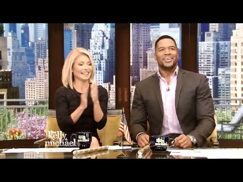 Michael Strahan's Final Open - Kelly & Michael (Flashback Friday Farewell)