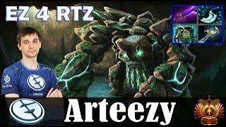 Arteezy - Tiny Roaming   EZ 4 RTZ   dota 2 mmr Pro Gameplay 4