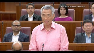 Pm Lee Hsien Loong S Speech At The Debate On The President S Address 2018