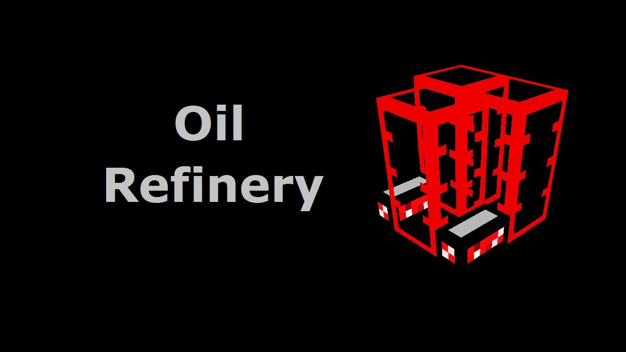 Oil Refinery (Tekkit\/Feed The Beast) - Minecraft In Minutes - YouTube