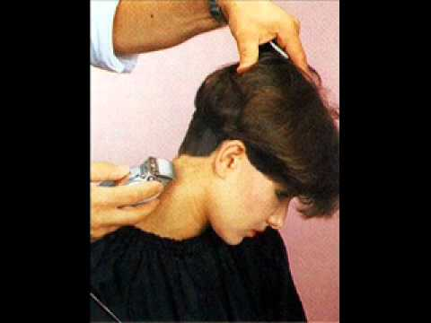 long to short wedge haircut - YouTube
