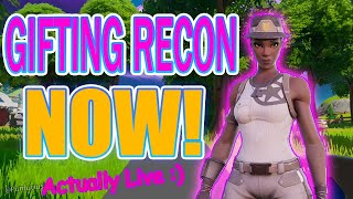 Fashion Show Contest! Fortnite Fashion show LIVE Giveaway! 1 WIN = FREE RECON REAL GIVEAWAY!