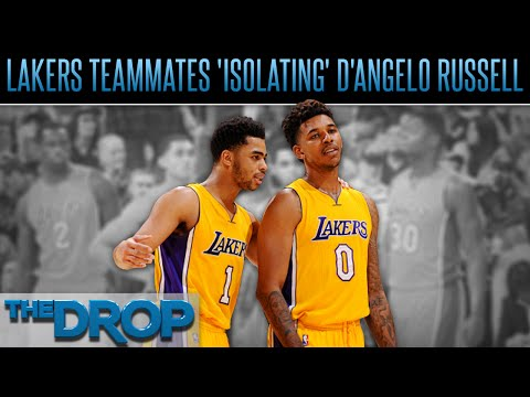 D'Angelo Russell's Recorded Video of Nick Young Leaked - The Drop Presented by ADD