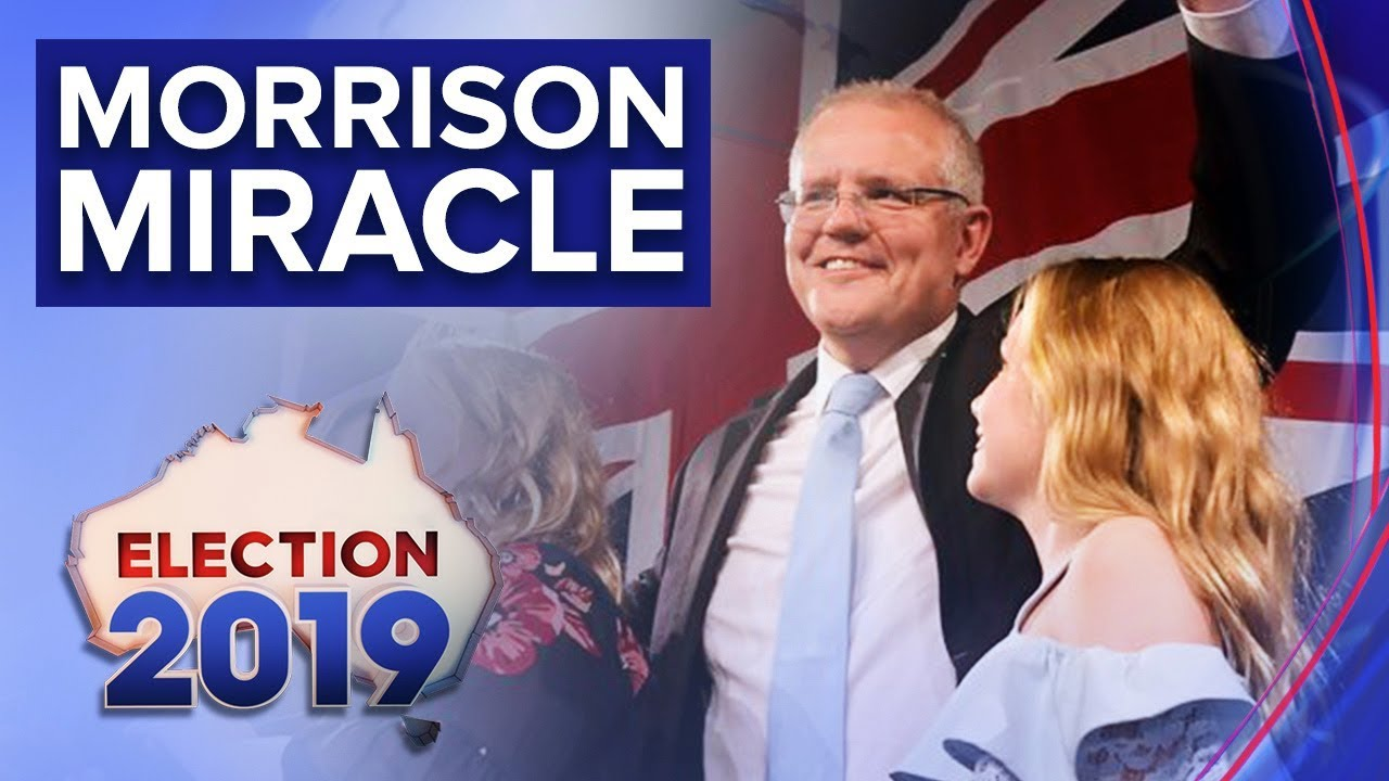 "Prime Minister celebrates ""miracle"" win   Nine News Australia"