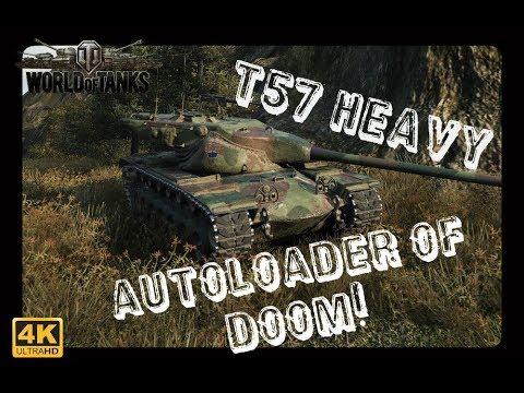 Let's Play World of Tanks | T57 Heavy | Autoloader of Doom [ German - Gameplay - Deutsch ]